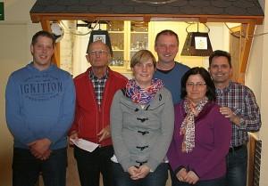von links: Sven Büser, Rolf Hamann, Nicole Dohmgoergen, Ingo Krämer, Regina Sträßer, Reinhard Kinze